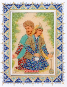 """Hossein Fallahi """"Hafez and Shahkhenabat"""" 2005 (private collection)"""
